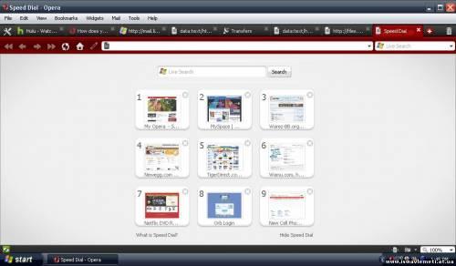 Opera Browser-ის გადაქართულება