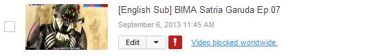 Video Blocked Worldwide Youtube-ზე გასწორება..